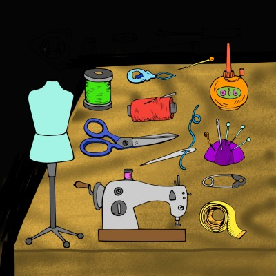 무슨 옷을 만들어야ᆢ? | sera | Digital Drawing | PENUP