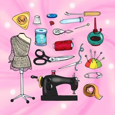 sewing kits | Diana | Digital Drawing | PENUP