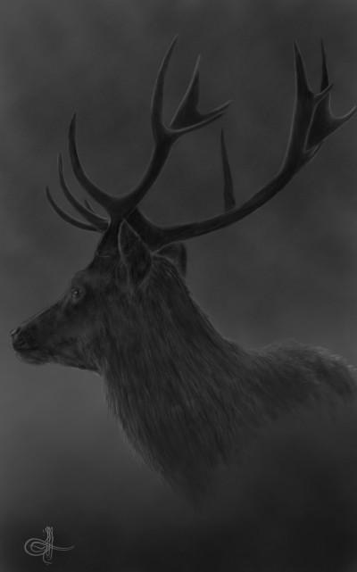 Deer♡In♡The♡Mist | Erkan-Beyatli | Digital Drawing | PENUP