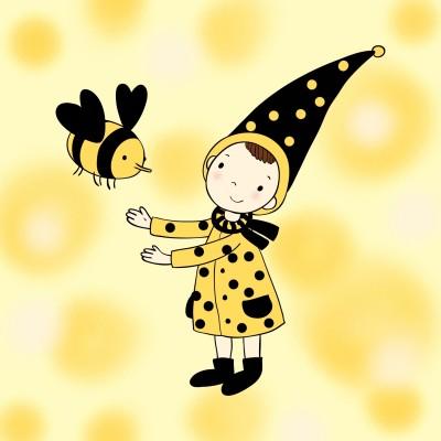 Bee Kind | DeeJay | Digital Drawing | PENUP