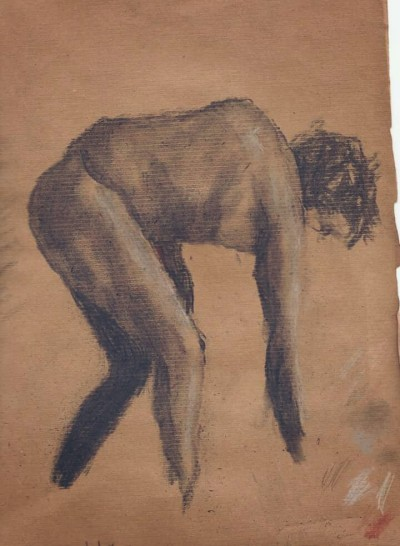 Charcoal. Model curtosy of Croquis Cafe | Blueflow | Digital Drawing | PENUP