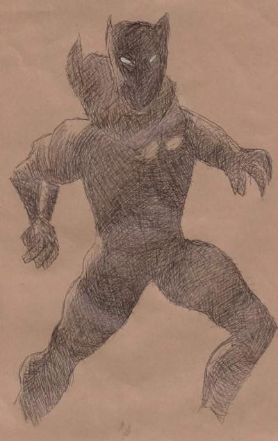 Black Pather - black ballpoint | Blueflow | Digital Drawing | PENUP
