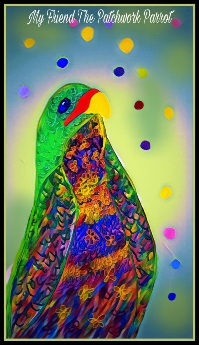 Patchwork Parrot by K.E.R | katherineeroach | Digital Drawing | PENUP