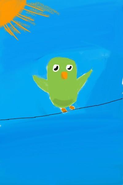 bird  | phenominal | Digital Drawing | PENUP