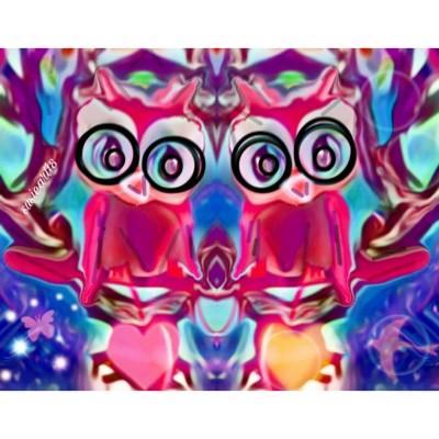 owl love | SusieBrooklyn | Digital Drawing | PENUP