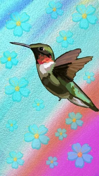 Hummingbird | Charldia | Digital Drawing | PENUP