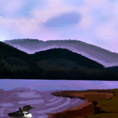 Lake Scene | Charldia | Digital Drawing | PENUP