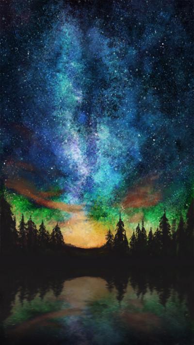 starry night-2 | dongdongkim | Digital Drawing | PENUP