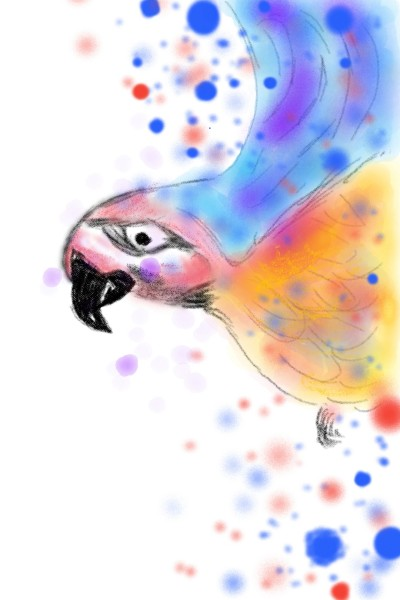 Birdy bird | mayan | Digital Drawing | PENUP