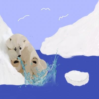 Polar Bear | Charldia | Digital Drawing | PENUP