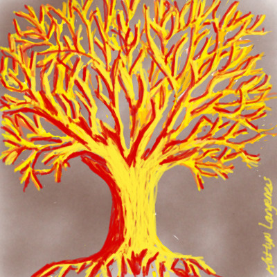 Ready Yellow Tree | _Katlyn_L | Digital Drawing | PENUP