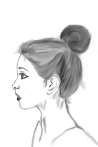 Portrait Digital Drawing   tunc25   PENUP