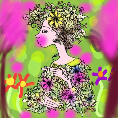 Coloring Digital Drawing | urtere | PENUP