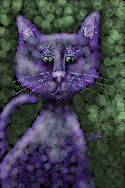 New Cat Style | LisaBme | Digital Drawing | PENUP