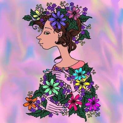 Coloring Digital Drawing | sandra956 | PENUP