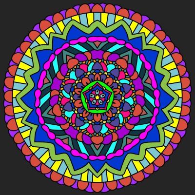 Coloring Digital Drawing | April | PENUP