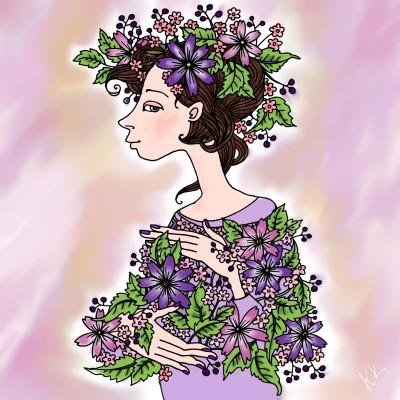 lady | kajunlynn | Digital Drawing | PENUP