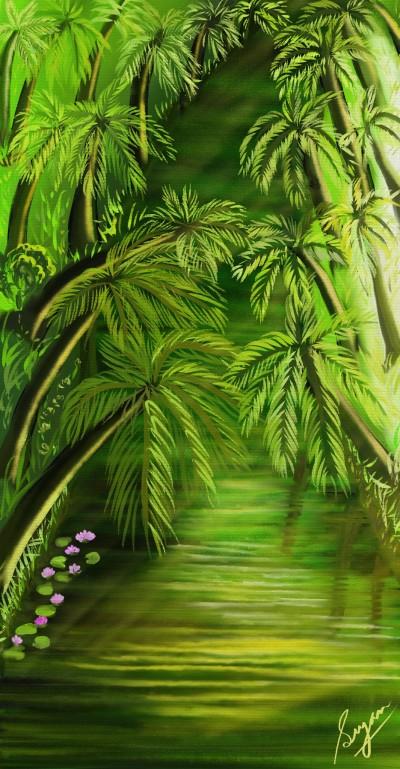 River | Sugan | Digital Drawing | PENUP