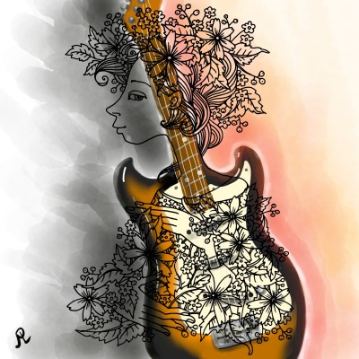 Coloring Digital Drawing | Liel | PENUP