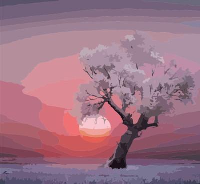 Oil painting - albero  | Debby | Digital Drawing | PENUP