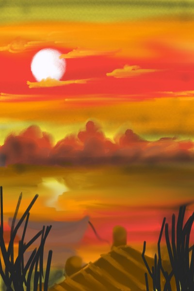 Landscape Digital Drawing | susmi | PENUP