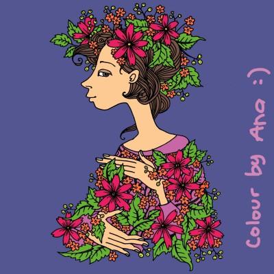 wanita | ana | Digital Drawing | PENUP