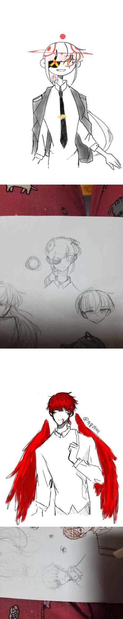 손긂 패드긂 갭차이 | 1ho | Digital Drawing | PENUP