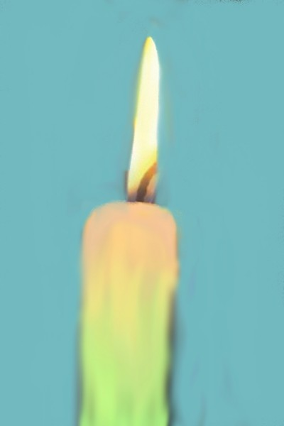 rainbow candle | Elise_cool | Digital Drawing | PENUP