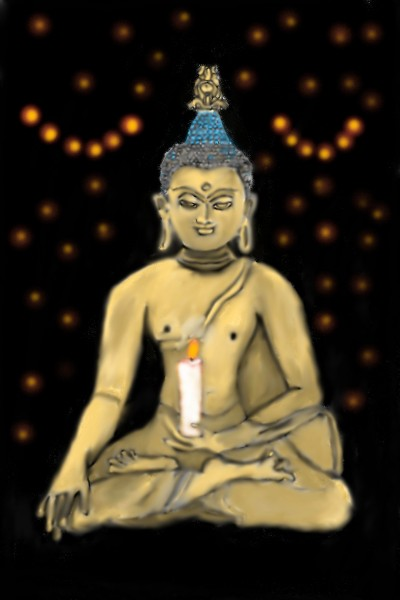 Buddha | Mark349 | Digital Drawing | PENUP