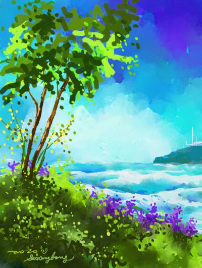 July | SSB | Digital Drawing | PENUP