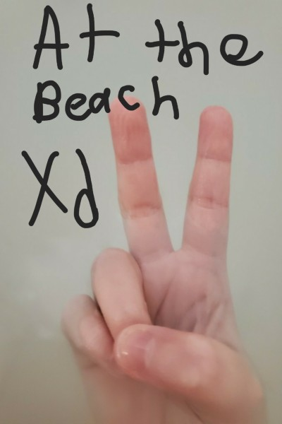 I'm at the beach rn | DemonWolf251 | Digital Drawing | PENUP