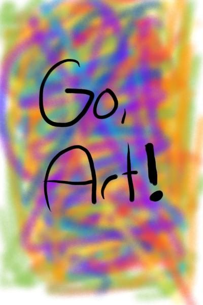Go, ART! | avictorias13 | Digital Drawing | PENUP