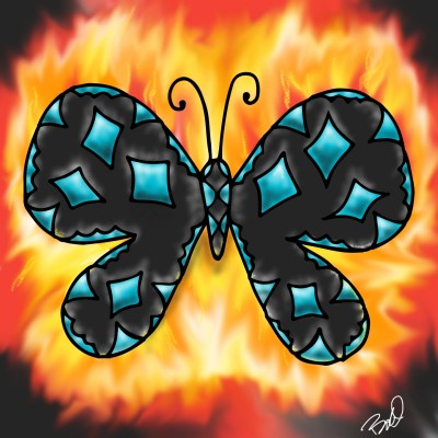 moth to the flame   nyyankeehitman   Digital Drawing   PENUP