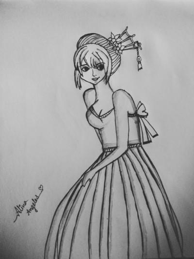 Princess  | dwitipriya | Digital Drawing | PENUP