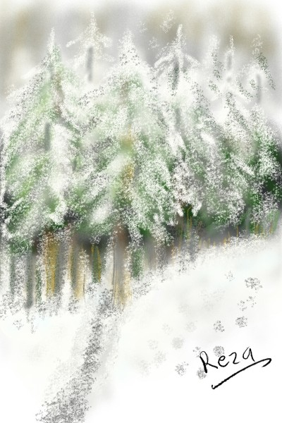 snow | RezaDadkhah | Digital Drawing | PENUP