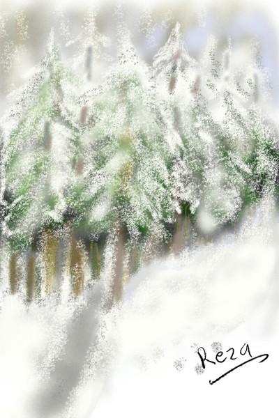 snow gengle | RezaDadkhah | Digital Drawing | PENUP