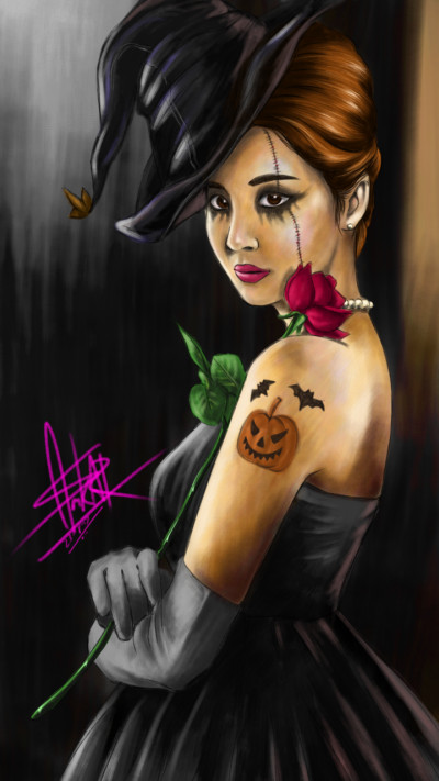 Halloween_Seohyun | FirstNote4 | Digital Drawing | PENUP