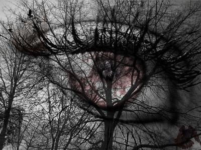 creppy eye | herobrine | Digital Drawing | PENUP