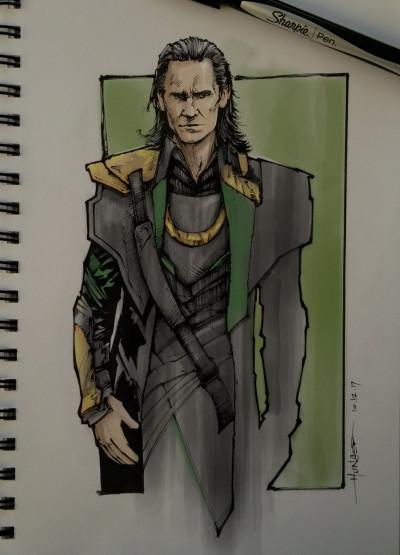 Loki Color Test | Hunger_art | Digital Drawing | PENUP