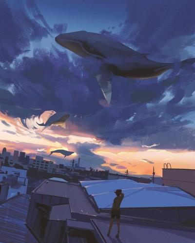 небо | Alex | Digital Drawing | PENUP