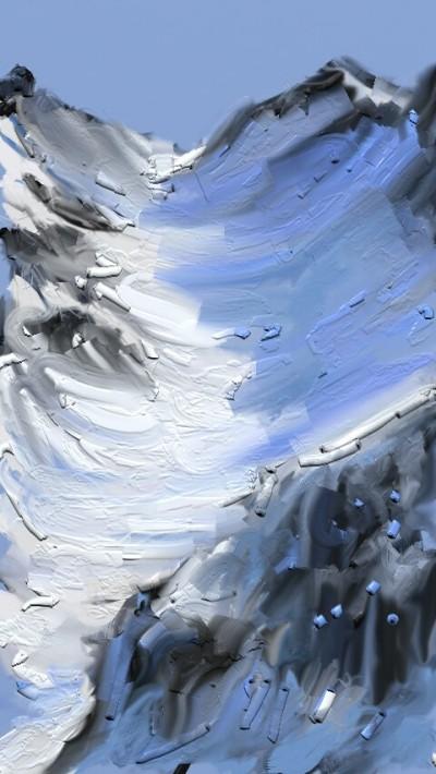 Landscape Digital Drawing | AENEAN | PENUP
