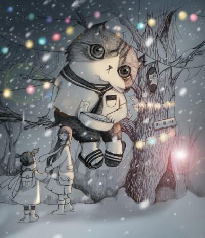 winter night   kimdajeong   Digital Drawing   PENUP
