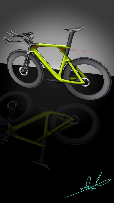 Future Bike  | Yousif_Aqeel | Digital Drawing | PENUP