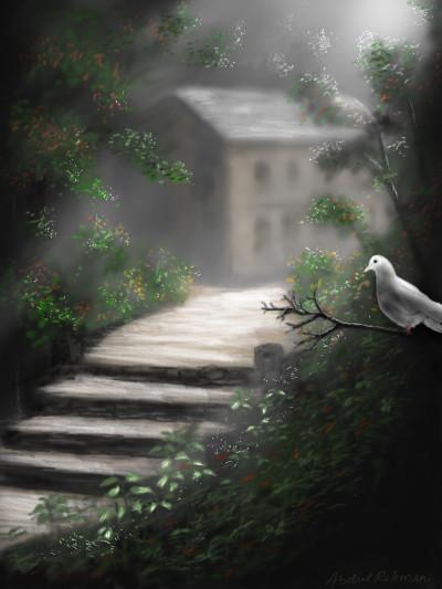 Pigeon  | abdulrahman | Digital Drawing | PENUP