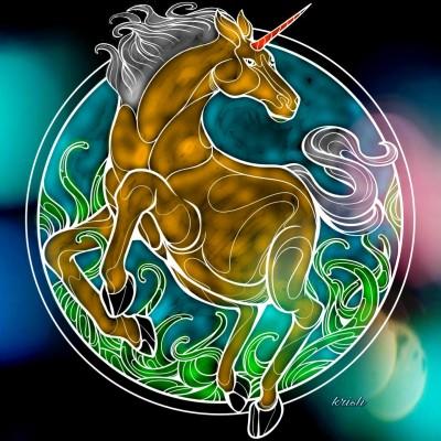 Magical Unicorn  | krish | Digital Drawing | PENUP