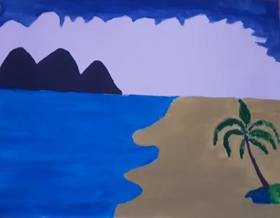 Beach!♡♡♡ | Love_14 | Digital Drawing | PENUP