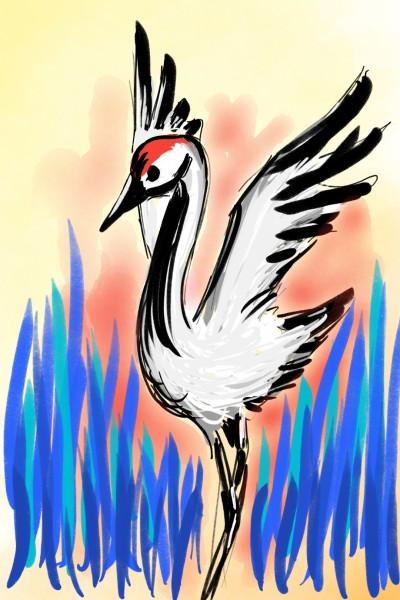 Crane | PESanchez | Digital Drawing | PENUP