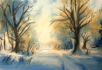 Winter Sun | TitusCrow | Digital Drawing | PENUP