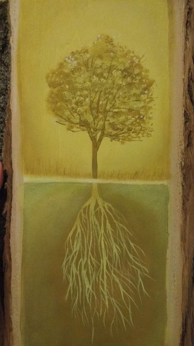 Acrylic on Basswood | .-.-.A.L.B.-.-. | Digital Drawing | PENUP