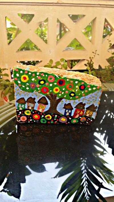 Houses on rocks    Jasmine_arts   Digital Drawing   PENUP